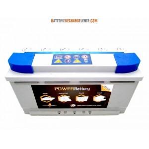 Batterie AGM decharge lente stationnaire 12v 105ah