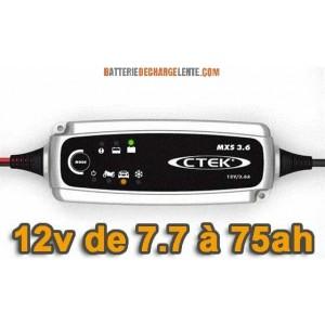 Chargeur batterie CTEK MXS 3.6