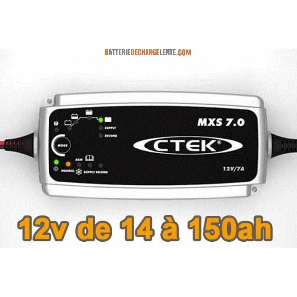 chargeur batterie decharge lente
