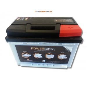 Batterie décharge lente camping car 12v 100ah