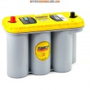 Batterie camping car OPTIMA Yellow Top  YTS 5.5 12v 75ah