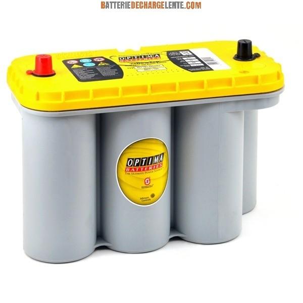 Batterie Camping Car Optima Yellow Top Yts V Ah Batterie Decharge Lente