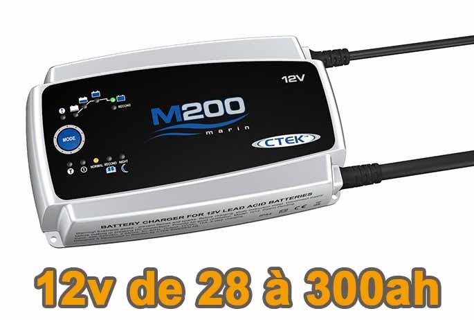 Chargeur batterie CTEK M200