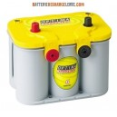 Batterie camping car OPTIMA Yellow Top  YTU 4.2 12v 55ah