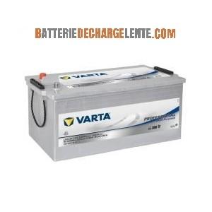 Batterie décharge lente Varta camping car LFD 230  12v 230ah