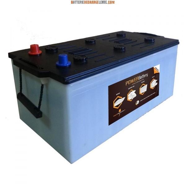 batterie pour cellule de camping car 12v 240ah power battery. Black Bedroom Furniture Sets. Home Design Ideas