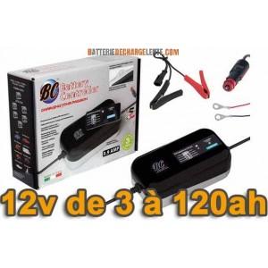 Chargeur de batterie BC CONTROLLER BC-9000 9A