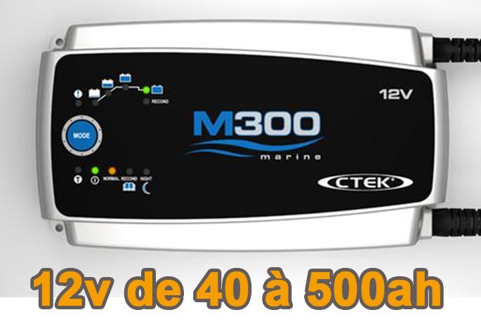 Chargeur de batterie CTEK M300