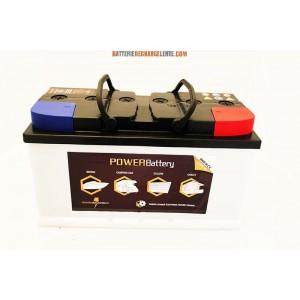 Batterie décharge lente camping car 12v 130ah