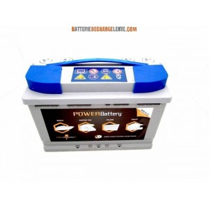 Batterie AGM decharge lente camping car 12v 88ah