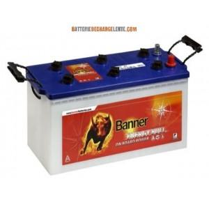 batterie banner d charge lente camping car 12v 130ah batterie decharge lente. Black Bedroom Furniture Sets. Home Design Ideas