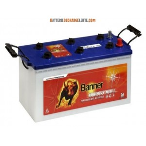 Batterie banner décharge lente camping car 12v 180ah