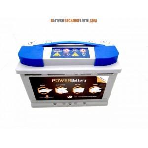 Batterie AGM decharge lente bateau 12v 88ah