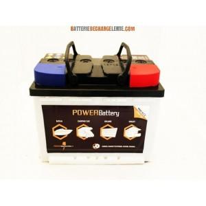 Batterie decharge lente caravane COMPACTE 12v 130ah