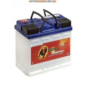 Batterie banner décharge lente caravane 12v 100ah
