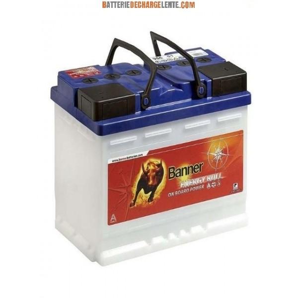 batterie banner d charge lente caravane 12v 100ah batterie decharge lente. Black Bedroom Furniture Sets. Home Design Ideas