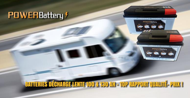 Batterie camping car au meilleur rapport qualité-prix